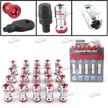 -Poner Racing-NEO CHROME VOLK RAYS FORMULA WHEELS LOCK LUG NUTS 12X1.5 1.5 ACORN RIM CLOSE END(China)