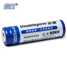 1pcs Doublepow 3000mAh 3.7V 18650 Lithium Battery LSD High Capacity 18650 Li-ion Rechargeable Battery with 1200 Cycle