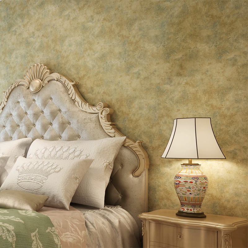 3D Modern Wallpapers Home Decor Solid Color Wallpaper 3D Non Woven Embossed Mottled Wall Paper Roll Decorative Bedroom Wallpaper<br>