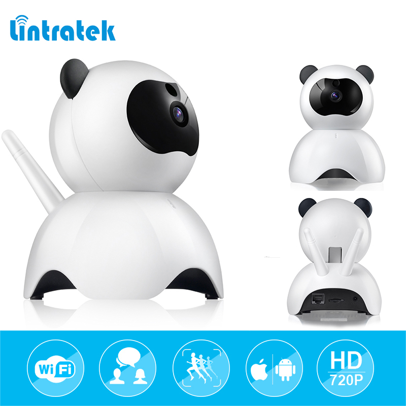 lintratek ip Surveillance camera wi-fi hd 720P mini Wifi Camera Wireless Onvif P2P Security Camera Baby Monitor Babyphone ip cam<br>