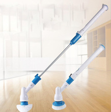 Multifunction Electri Household Cleaning Brush Home Toilet Tiles Power Floor Cleaner Brush Mop Scrubber New(China)