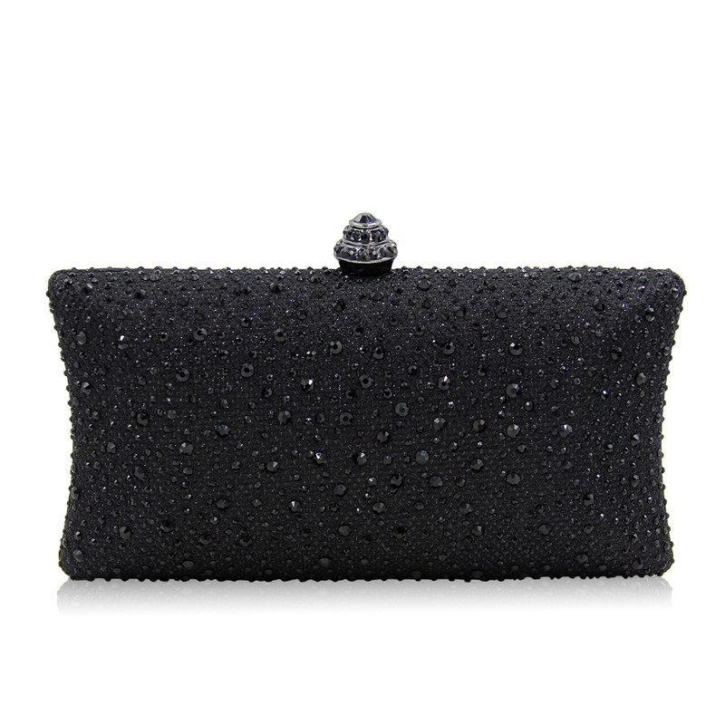 Factory Cheap New Red color Box Clutch Rhinestone Evening Clutch Bags and Crystal Evening Bags for Party Wedding Prom Evening<br>