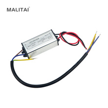 1Pcs DC 24V-38V 20W 600mA Power Supply Floodlight LED Driver (10 series 2 parallel) lighting Transformer IP67 Waterproof Adapter(China)