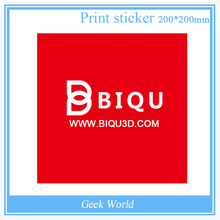BIQU 1PCS 200*200MM Red Painter Print Bed Tape Print Sticker Build Plate Tape