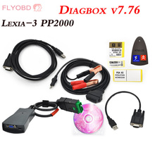 High Quality Lexia-3 PP2000 Diagnostic Tool lexia 3 V48 PP2000 Diagbox 7.83 professional Scanner work for Peugeot Free shipping