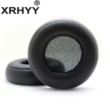XRHYY 1 pairs Black Replacement Earpads Ear Pads Cushion Cover For Monster Beat By Dr.Dre PRO/DETOX Headphones(China)