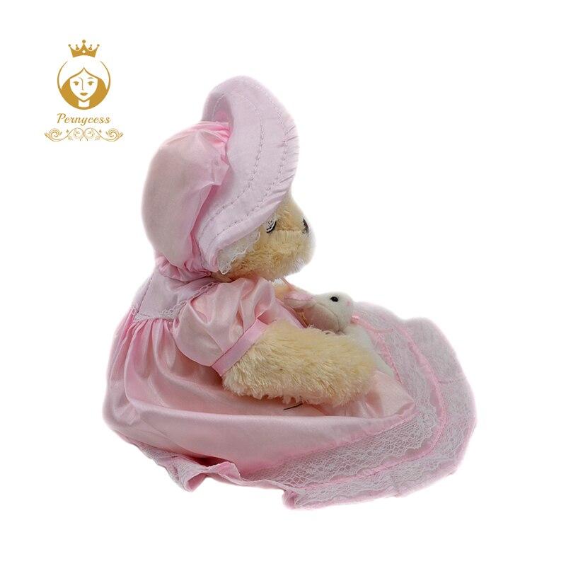 2-1PCS-30CM-cute-teddy-bear-wearing-a-skirt-plush-stuffed-toys-plush-dolls-kids-role-playing
