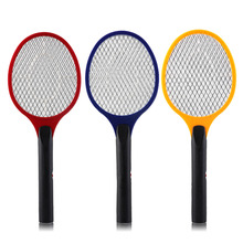 Net Dry Cell Hand Racket Electric Swatter Home Garden Pest Control Insect Bug Bat Wasp Zapper Fly Mosquito Killer In Stock(China)