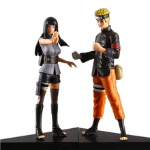 2PCS/Set 2015 Naruto Hinata grown-up Anime Action Figures Dolls Free shipping Collection Model Doll Toy Mini Kids Gifts #BB(China)