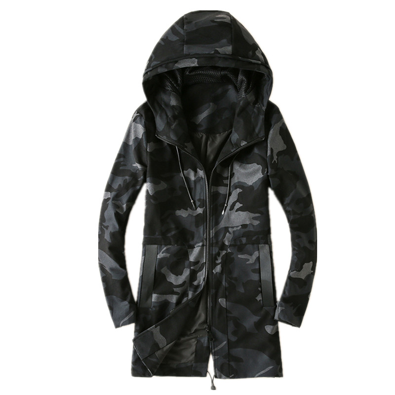 2017 spring Men's jackets casual fashion Camouflage colors jacket trench coat  Men high quality jackets, Men's dust coat