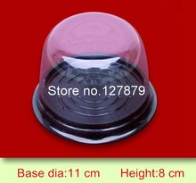 50sets clear plastic cake favor container,wedding party favor gift