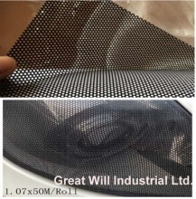 Fly Eye Tint Black Perforated Mesh Film Legal On the Road Spy Vision Size 1.07x50m Free Shipping To UK