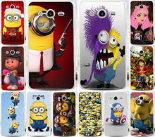 Cool Despicable Me PC Mobile Phone Cases Capa Hood For Samsung Galaxy Core 2 G355H 355H Phone Case Back Cover Capinhas Shell(China)