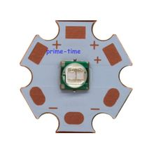 2pcs 5W 5050 Ultra Violet UV 365nm 380nm 395nm 420nm High Power Led Emitter on 20mm Copper Star