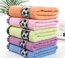 large bath towel football beach towel super large 100 cotton bath towel 70x140cm high quality for Adult