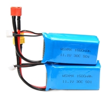 2016 Best Deal 1PCS  WSX WSX-S01 11.1V 3S 30C 1500mAh Battery For QAV250 Frame Kit