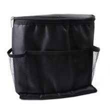 Car Covers Seat Organizer Insulated Food Storage Container Basket Stowing Tidying Black Bags car styling
