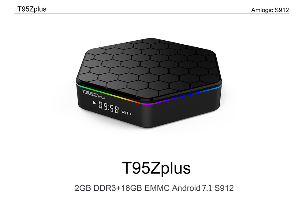 image for T95Z Plus Amlogic S912 Android 7.1 TV BOX 2GB/3GB 16GB/32GB Octa Core