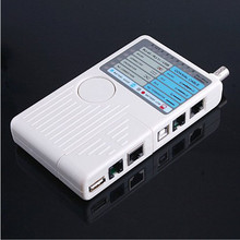 Universal High-Efficiency Accurate Remote RJ11 RJ45 USB BNC LAN Network Phone Cable Tester Meter LAN Networking Tool for Phones(China)