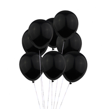 HUADODO 20Pcs 12inches Black&Orange Latex Balloons Inflatable Halloween Balloon for Wedding Birthday Party Decoration(China)