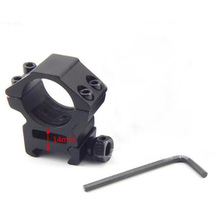Buy Tactical Scope Mount Rings Track Clamp Sight Mirror Laser Sight Mounts Barrels Diameter Range 25-28mm for $5.55 in AliExpress store
