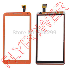 for Star Note2 N9776 MTK6577  Touch Screen Digitizer panel glass orange by Free Shipping