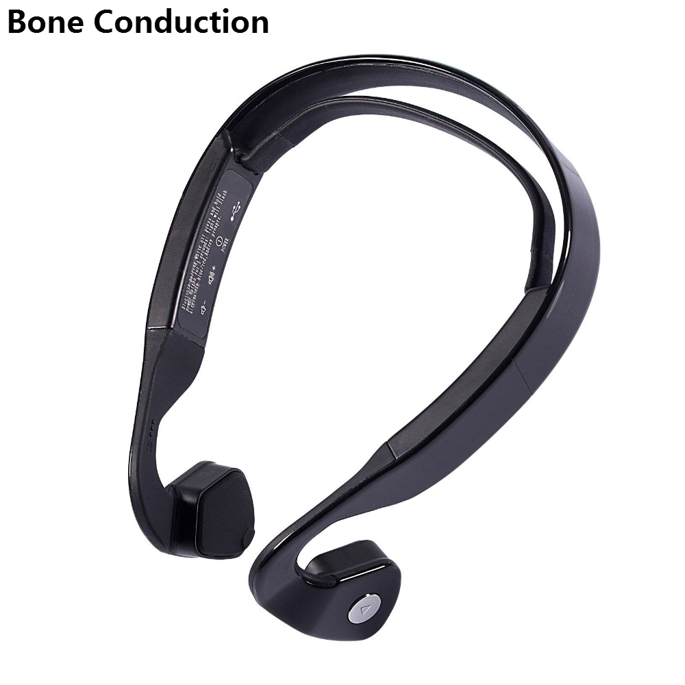 Hot Bone Conduction Headset Windshear Bluetooth Hands Free Driving Running Working Headphones Wireless Sports Earphones With Mic<br>