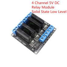 4 Channel 5V DC Relay Module Solid State Low Level SSR AVR DSP arduino - 3D printer series& For Arduino store