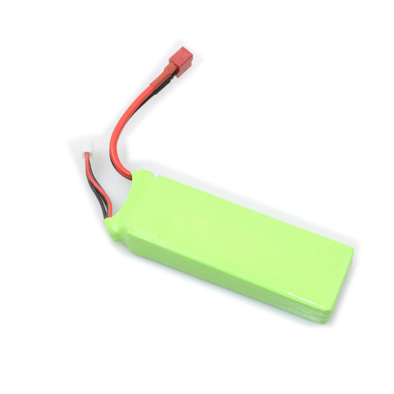 Remote control model airplane KT board machine 11.1V 1800mAh 25C lithium battery Su su27KT model airplane fittings<br>