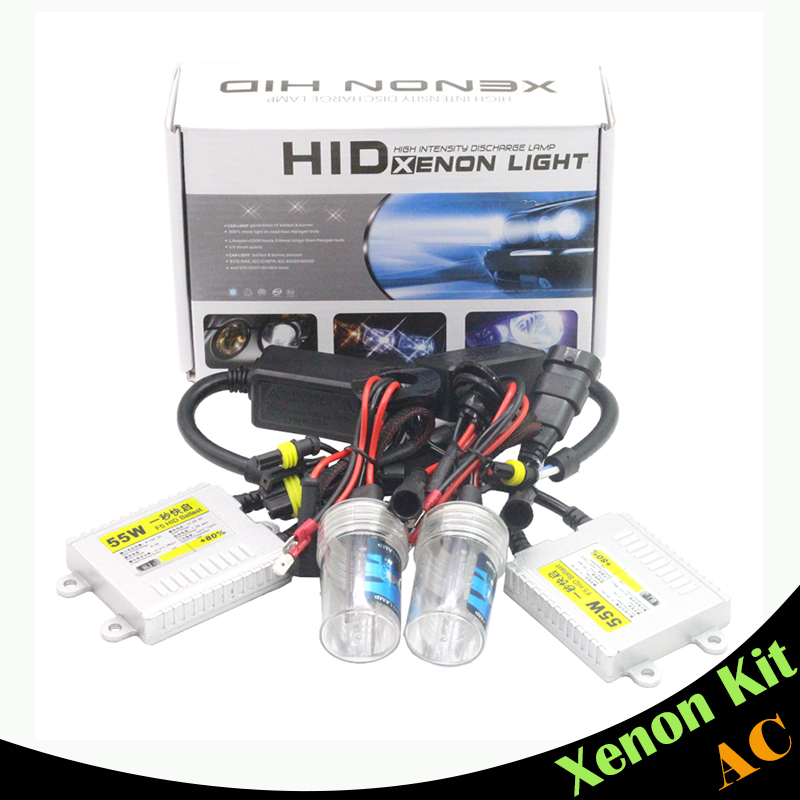 880 881 55W Ballast Bulb Conversion HID Xenon Kit AC 3000K-15000K Car Headlight Fog Lamp Daytime Running Light DRL<br><br>Aliexpress