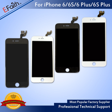 E_Faith 1PC AAA LCD Or Display Or Screen For Apple iPhone 6 Or 6s Or 6sp Or 6sp With Touch Screen Digitizer And Fast Ship(China)