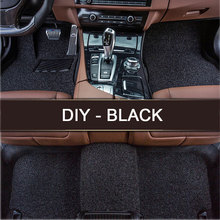 LUNDA LUNDA DIY fit car floor mats for Lincoln MKT MKX MKC 3D car styling heavy duty all weather rugs carpet floor liner