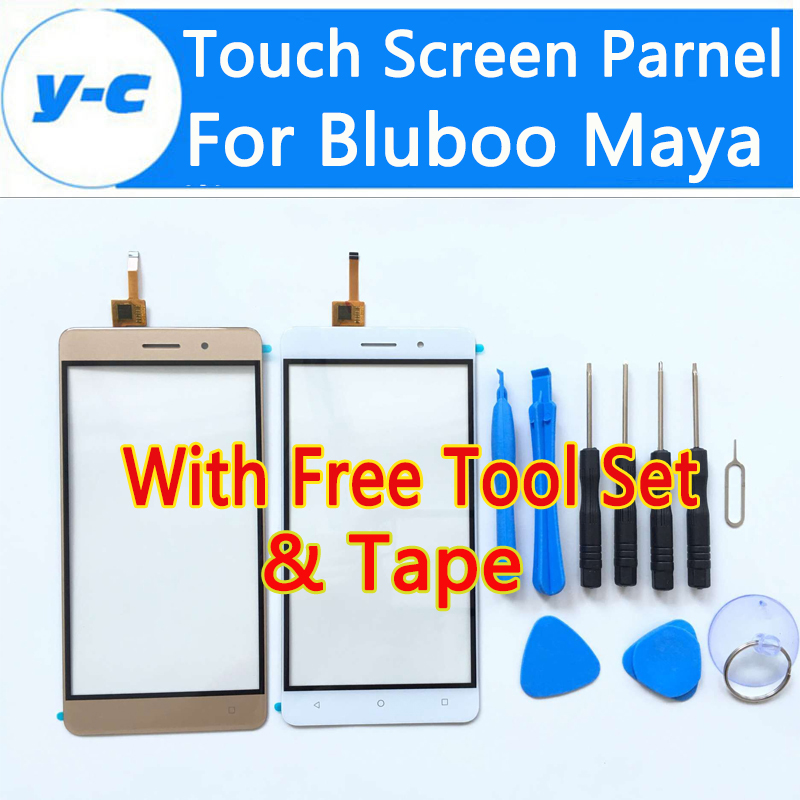 Bluboo Maya Touch Screen 100% High Quality New Digitizer Touch Glass Panel Replacement For Bluboo Maya 5.5 Inch<br><br>Aliexpress