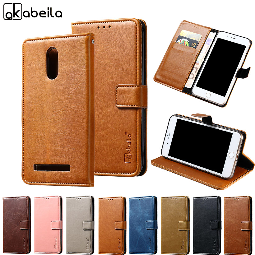 AKABEILA Flip PU Leather Phone Cases Doogee Homtom HT7 HT7 Pro 5.5 INCH Case Cover Wallet Bags Housing Homtom HT7 Pro