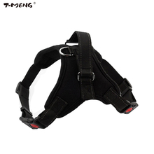 T-MENG Pet Products Nylon Dog Harness Vest For Small Large Dogs Professional K9 Walk Out Pet Dog Collar Harness Accessories(China)