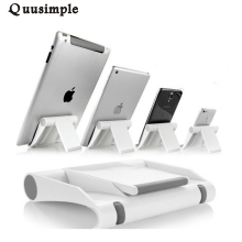 Universal Desk Mobile Phone Stand Holder Cell Phone Foldable Adjustable Smartphone Tablet Stand for iPad for iPhone 5 6S samsung(China)