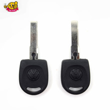 Good quality  Blank Shell For Volkswagen (VW) B5 Passat Transponder Key (HU66) + with logo Free Shipping