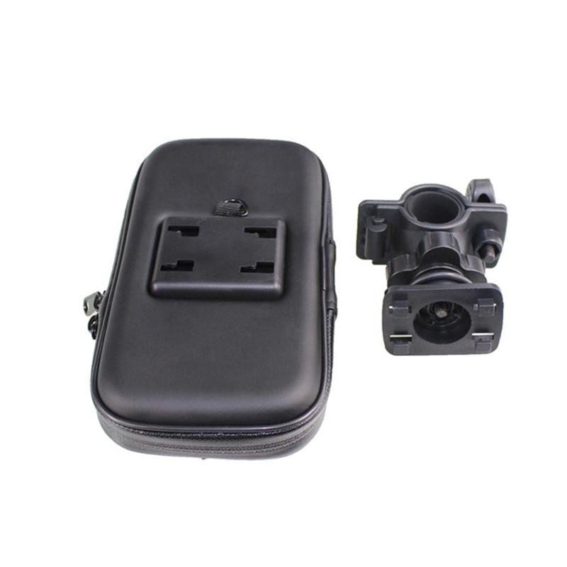 Fimilef Motorcycle Bike Ride Phone Waterproof Bag Case Adjustable Holder Handlebar Mount Dustproof Bag Navigation Phone Stand (9)