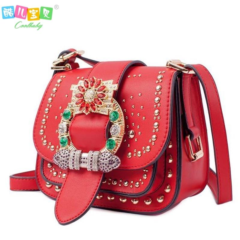 Famous Brand women Shoulder Bag Fashion diamonds Rivets Womens bag small Flap pocket Lady Crossbody Bags Bolsa Feminina<br><br>Aliexpress