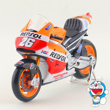 Maisto/1:18 Scale/Diecast model motorcycle toy/2014 Honda REPSOL Racing Team Model/Delicate Gift or Toy/Colllection/For Children
