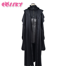 Star Wars Darth Maul Jedi Tunic Robe Cosplay Costume Linen Black Cloak Sets Halloween Uniform For Man Adults Christmas Costume