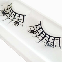 1 Pairs Halloween Party Eyelashes Cheap False Eyelashes Cilios 3D Black Mink Extension De Pestanas Maquiagem Hot#051