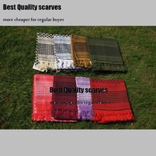 Thicken Shemagh Arab Scarves Men Winter Military Windproof Scarf 100% Cotton Muslim Hijab Shemagh Tactical Desert Arabic Scarf(China)