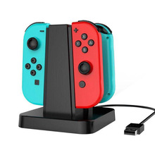 For Nintendo Switch controller Charger, Joycon Charging Dock with LED indication(China)