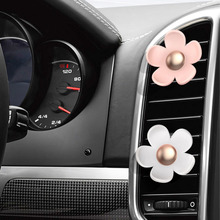Car-Styling Car Air Conditioning Vent Perfume Clip Outlet Decoration Aromatherapy Flower Fragrance Decorative Air Freshener Hot(China)