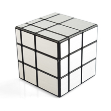 QiYi 3X3 Mirror Blocks Magic Cube Puzzle Toys for Beginner Best Toy For Children