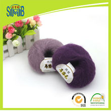 Jingxing, China brushed yarn manufacturer huicai online retail selling small quantity OEKO TEX 50g ball mohair yarn for knitting(China)