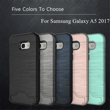 WolfRule sFor Phone Case Samsung Galaxy A5 2017 Cover Soft TPU+PC Case For Samsung Galaxy A5 2017 Case A520 For Samsung A5 2017]