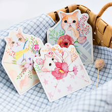 30pcs mail cat to you style card as invitation Greeting Cards use memory postcard gift Christmas holiday birthday send