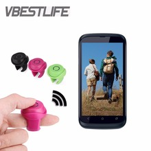 VBESTLIFE Wireless Shutter Bluetooth Mini Remote Control Clip-on Function Phone Photo Self-timer for IOS Android Phone Universal